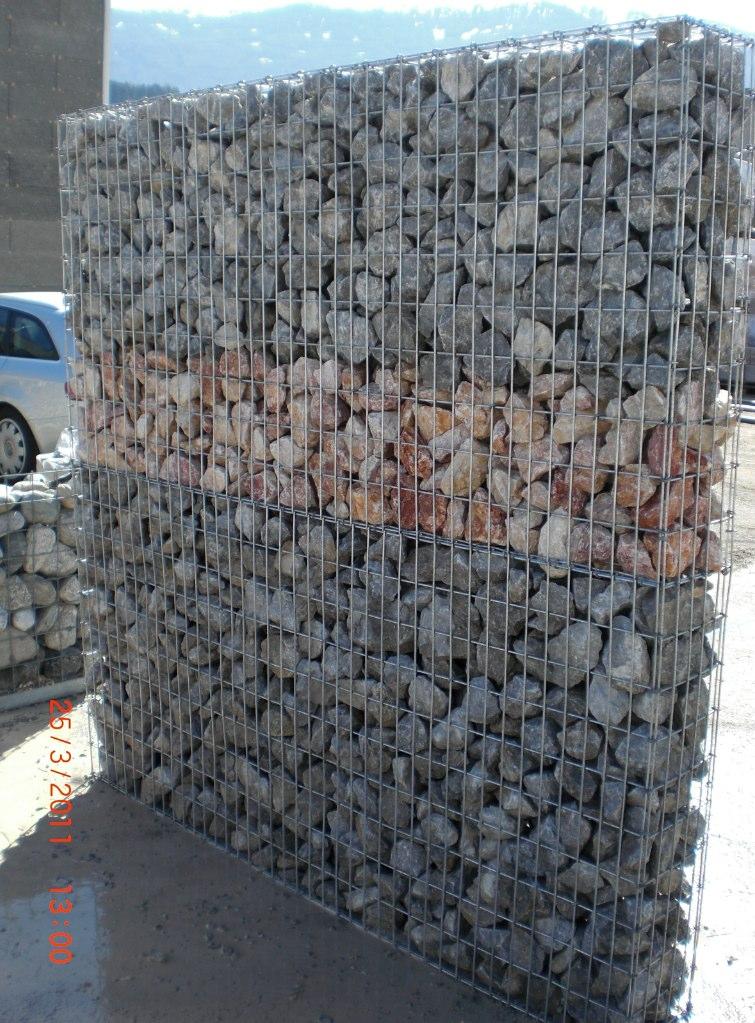 Wand Steine Gitter : steinzaun  gabionen  gtigitter  ihr gitterprofi!, Garten und bauen